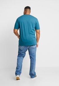Jack´s Sportswear - SANTA TEE - Print T-shirt - petrol blue - 2