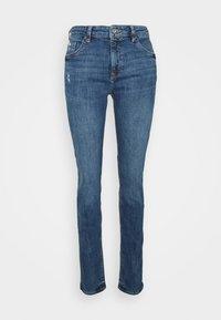 edc by Esprit - Skinny džíny - blue denim - 0