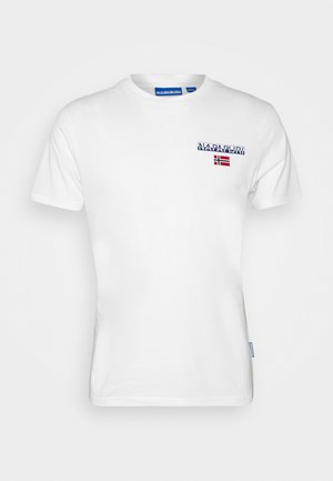 T-shirt con stampa - bright white