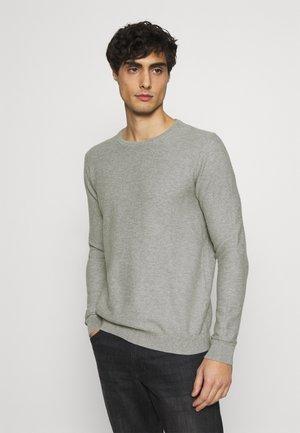 COSY SWEATER - Jumper - light soft grey melange