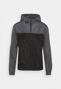 ASHBLOCK - Training jacket - grey/black