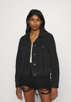 CLASSIC JACKET - Denim jacket - black