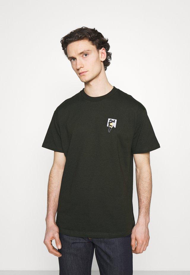 TEEF  - T-shirt print - cypress