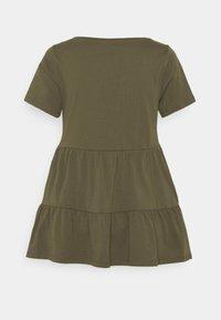 ONLY Tall - ONLAYCA PEPLUM - Basic T-shirt - kalamata - 1