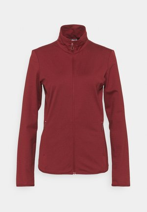 OUTRACK FULL ZIP  - Giacca in pile - pomegranate