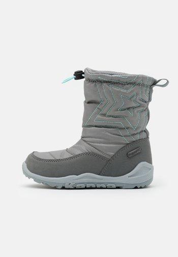 CESSY TEX UNISEX - Vinterstøvler - grey/mint