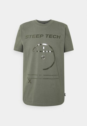 STEEP TECH LIGHT - Print T-shirt - agave green