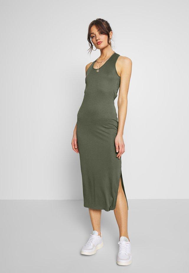 ARIZONA CROSS BACK MIDI DRESS - Maxi dress - capulet olive