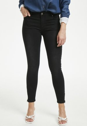 THE CELINAZIP CUSTOM - Jeans Skinny Fit - black