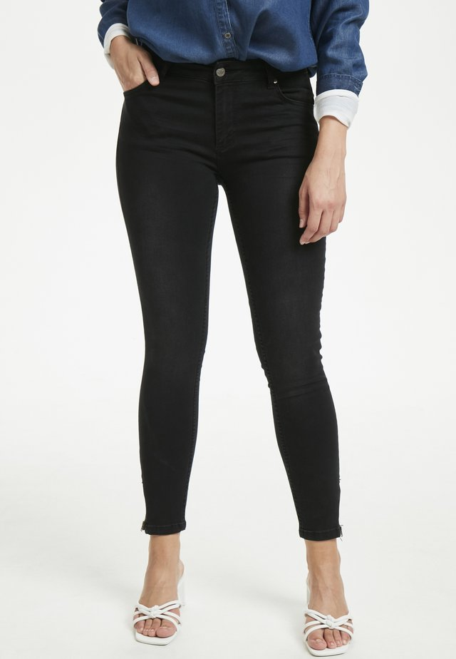 THE CELINAZIP CUSTOM - Jeans Skinny Fit - black