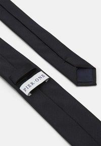 Pier One - Cravatta - black - 1