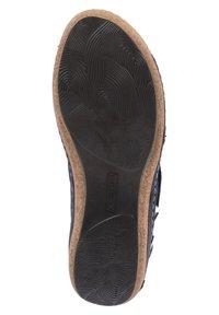 Waldläufer - HELIETT - Sandals - blau - 2