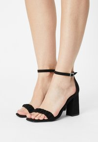 ONLY SHOES - ONLALYX LIFE - Sandals - black - 0