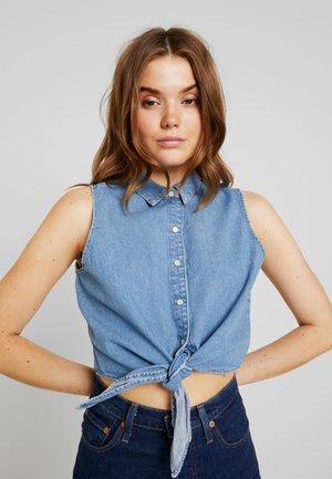 TORA BLOUSE - Skjorte - blue