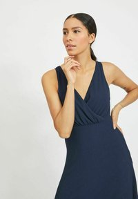 Vila - Maxi dress - navy blazer - 3