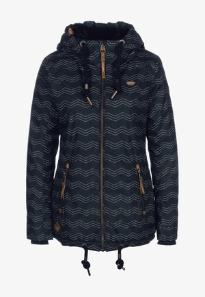 ZUZKA ZIG ZAG - Winter jacket - navy