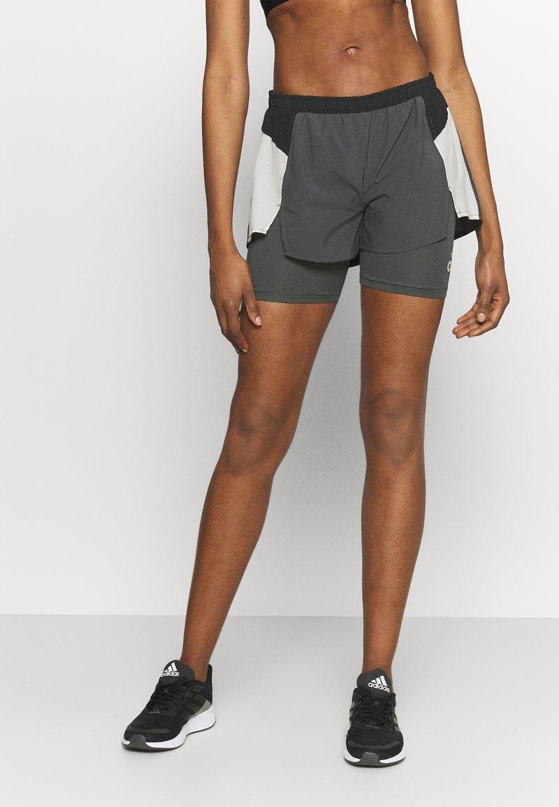 adidas Performance - Sports shorts - grey six