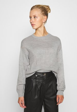 JDYJAYCEY - Jumper - light grey melange
