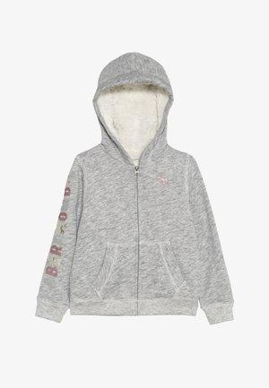 SHERPA - Mikina na zip - grey