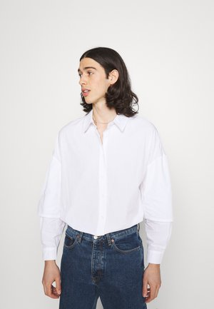 MARCUS BUTLER DOUBLE LAYER  - Shirt - white