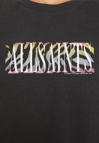 AllSaints - PROUD CREW - Print T-shirt - jet black - 6