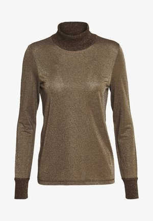 CASIO ROLL NECK - Jersey de punto - chocolate chip