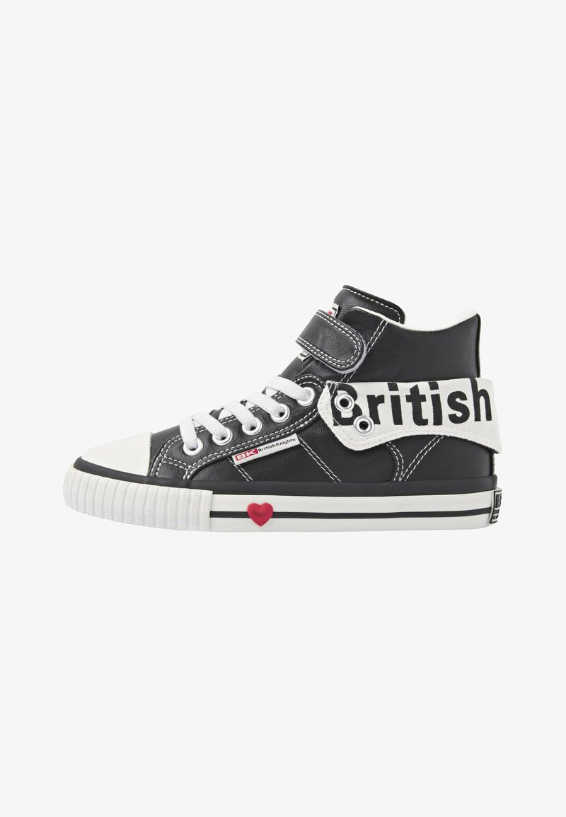 British Knights - ROCO - Sneakers hoog - black/white