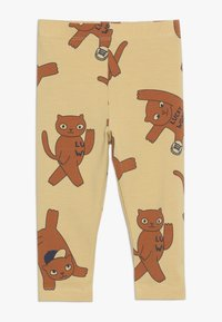TINYCOTTONS - CATS PANT - Leggings - sand/brown - 0