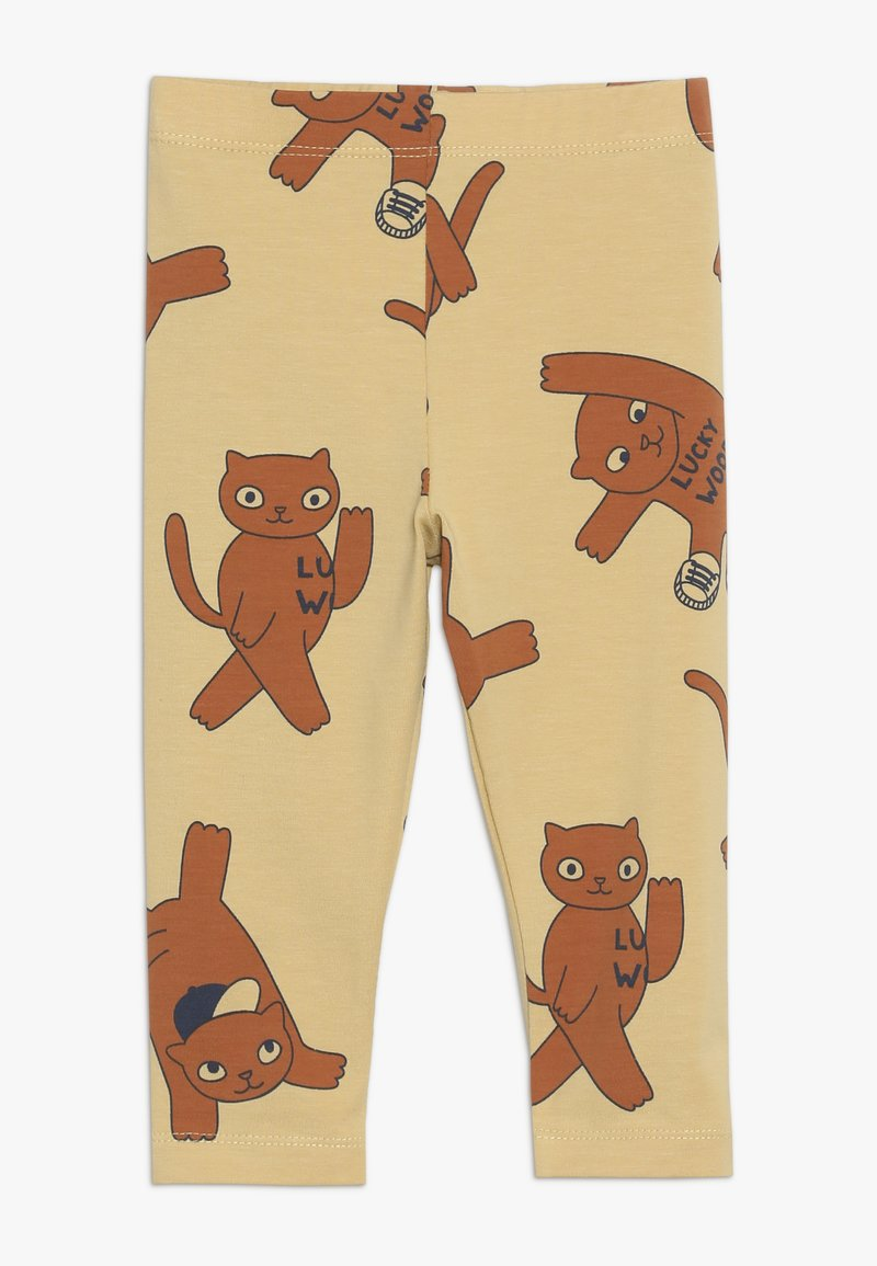 TINYCOTTONS - CATS PANT - Leggings - sand/brown