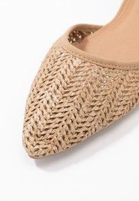 Rubi Shoes by Cotton On - ANKLE STRAP - Ankle strap ballet pumps - tan - 2