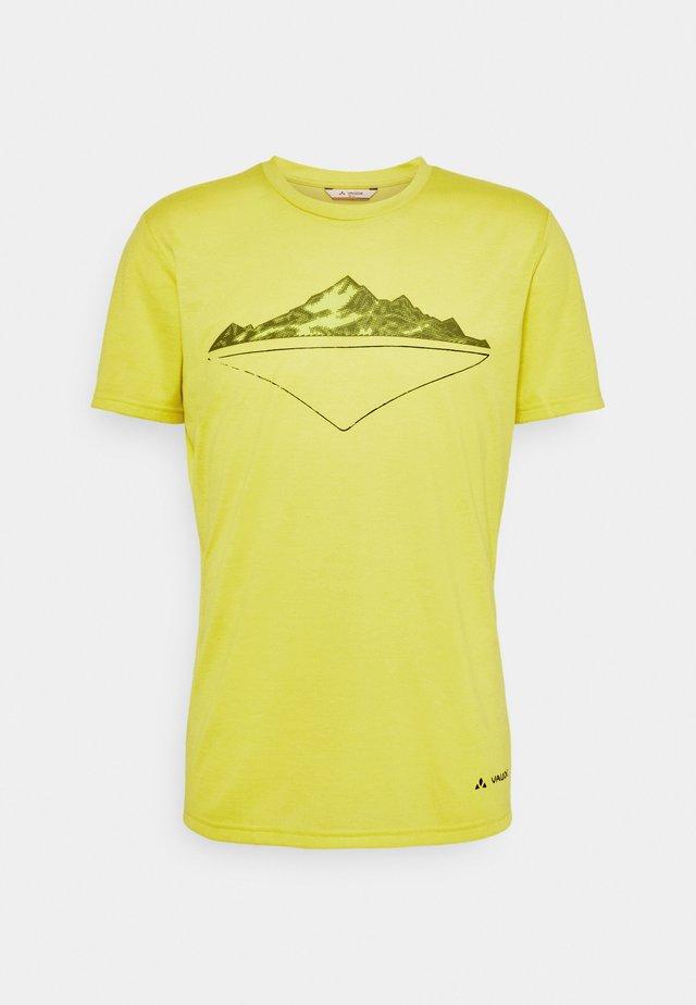 MENS TEKOA - T-shirt con stampa - bright green
