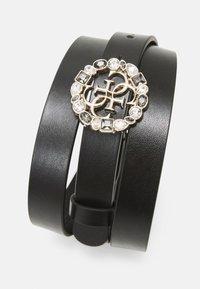 Guess - ADJUSTABLE PANTBELT - Belte - black/gold-coloured - 2