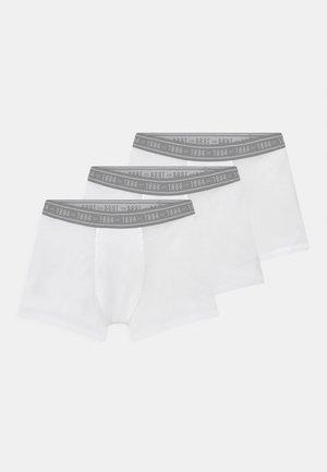 3 PACK - Shorty - white