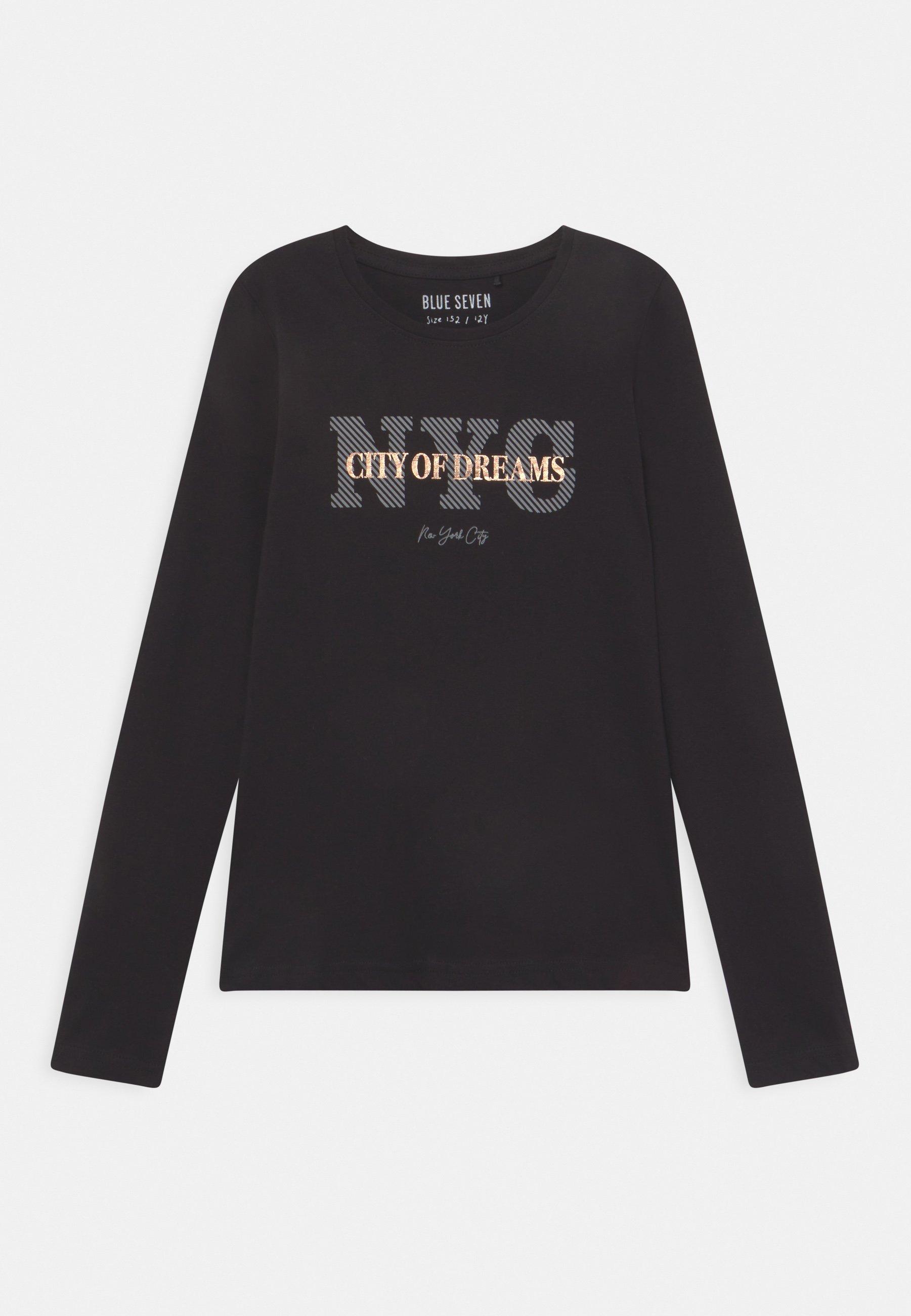 Enfant GIRLS  - T-shirt à manches longues - schwarz