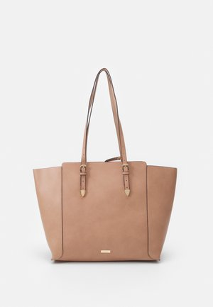 SMOOTH - Tote bag - rugby tan