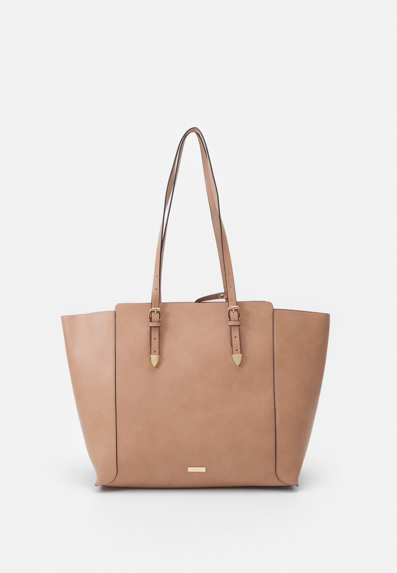 ALDO - SMOOTH - Tote bag - rugby tan