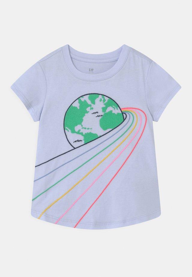GIRL TEE - T-shirt con stampa - sunrise pink