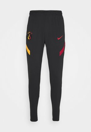 GALATASARAY ISTANBUL DRY PANT - Klubbkläder - black/vivid orange/pepper red