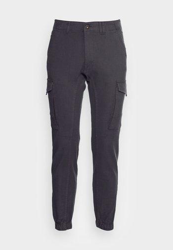 JJIPAUL JJFLAKE GREY HERRING - Pantaloni cargo - dark grey