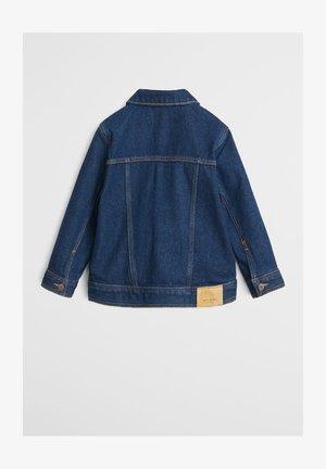 DENIMJAKKE I BOMULD - Denim jacket - mørkeblå