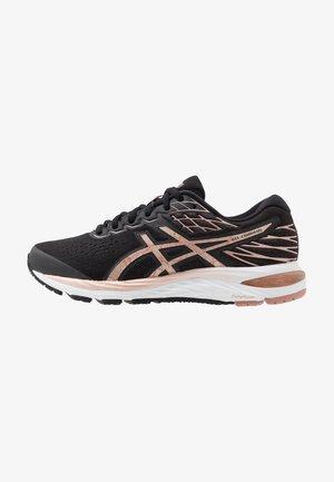 GEL-CUMULUS 21 - Neutral running shoes - black/rose gold