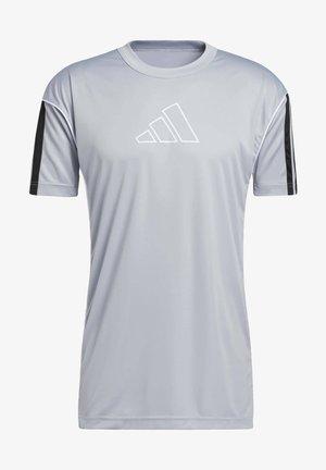 T-shirt med print - halsil