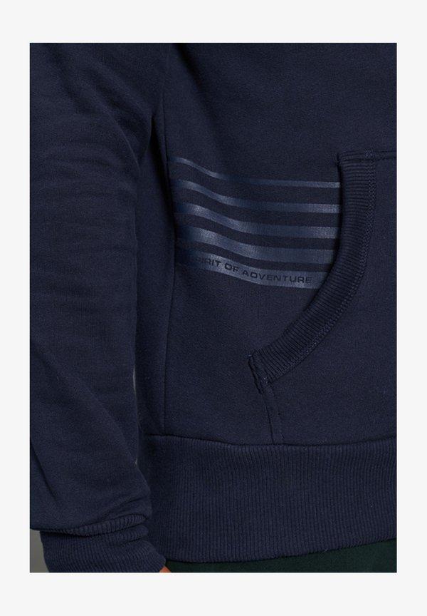 Superdry Bluza z kapturem - rich navy/niebieski Odzież Męska KPIT