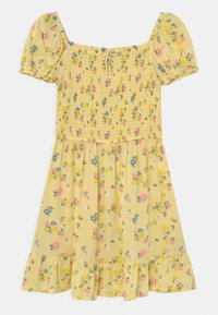 Marks & Spencer London - SHIRRED FLORAL - Day dress - yellow - 0