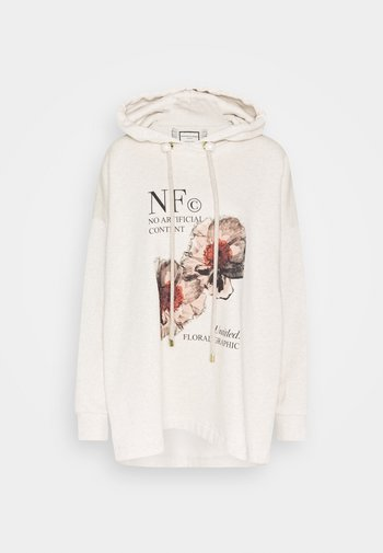 PRINTED HOODIE WITH THICK