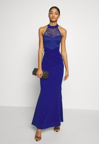 WAL G. - HALTER NECK DRESS - Vestido de fiesta - electric blue - 1