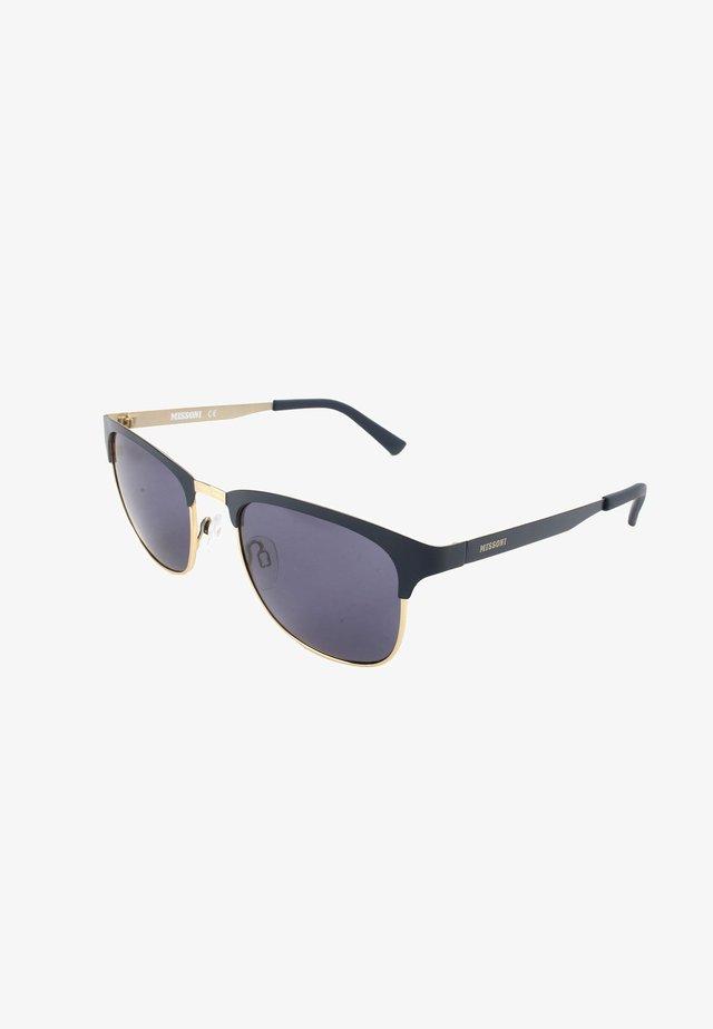 Sunglasses - multicolor/blue