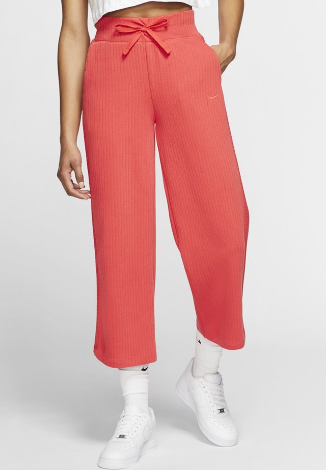 PANT - Tracksuit bottoms - track red