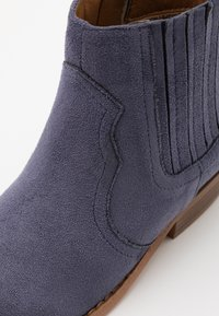 Cotton On - WESTERN BOOT - Classic ankle boots - navy - 5