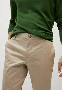 Mango - DUBLIN7 - Trousers - beige - 2